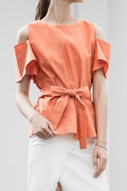 J.O.A. Rie Front Top - Front cropped
