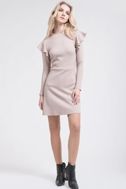 J.O.A. Ruffle Knit Dress - Product Mini Image