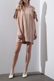 J.O.A. Side Tie Shift Dress - Product Mini Image