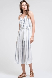 J.O.A. Stripe Crop Jumpsuit - Product Mini Image