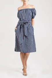 J.O.A. Nautical Midi Dress - Product Mini Image