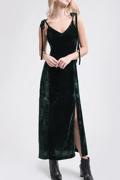 J.O.A. Velvet Maxi Dress - Product List Image