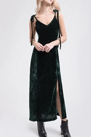 J.O.A. Velvet Maxi Dress - Product Mini Image