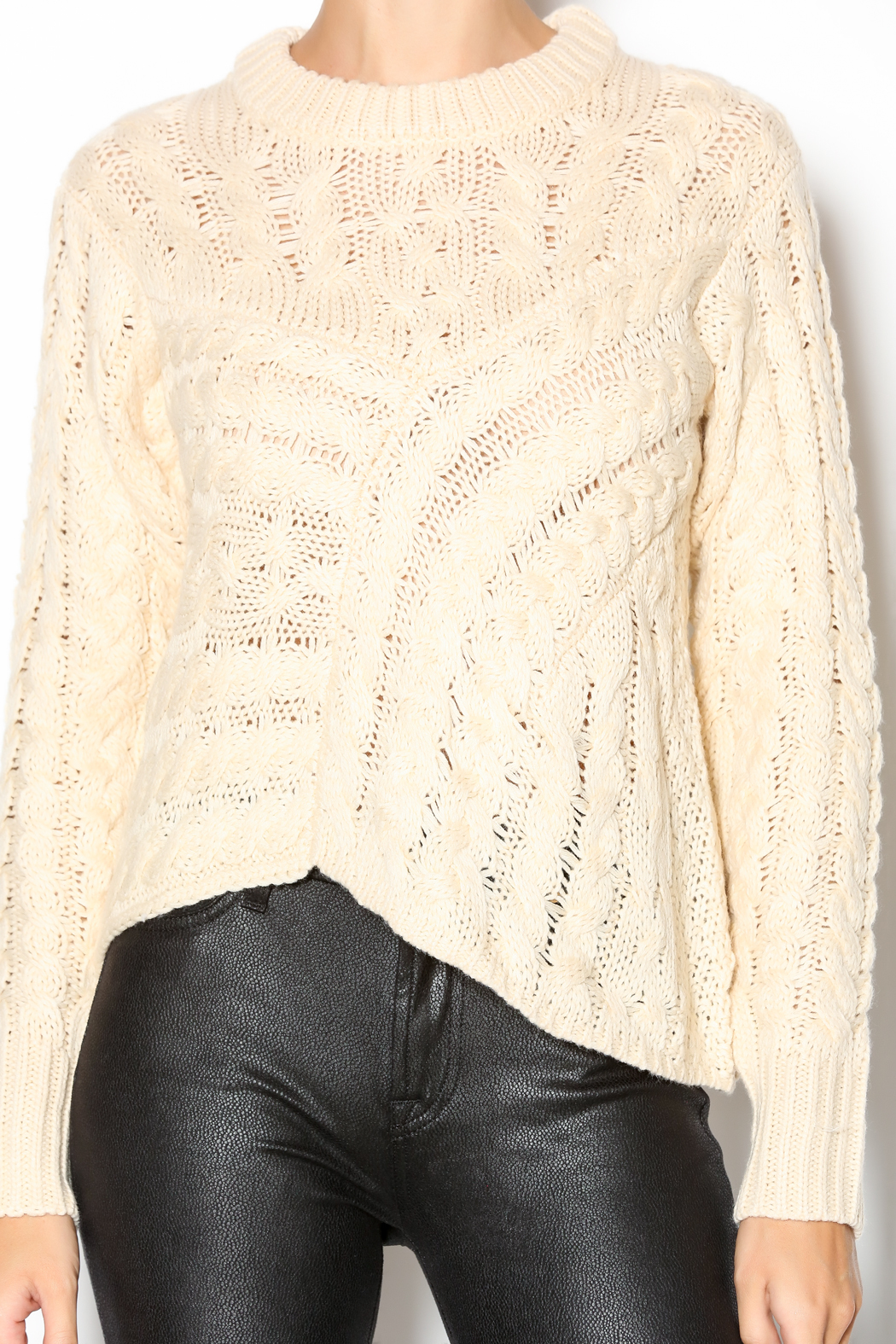 J.O.A. Cable Knit Sweater from Indiana by Ivy Boutique — Shoptiques