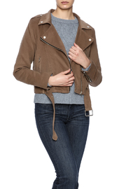 J.O.A. Cropped Moto Jacket - Product Mini Image