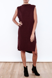 J.O.A. Sweater Dress - Front full body