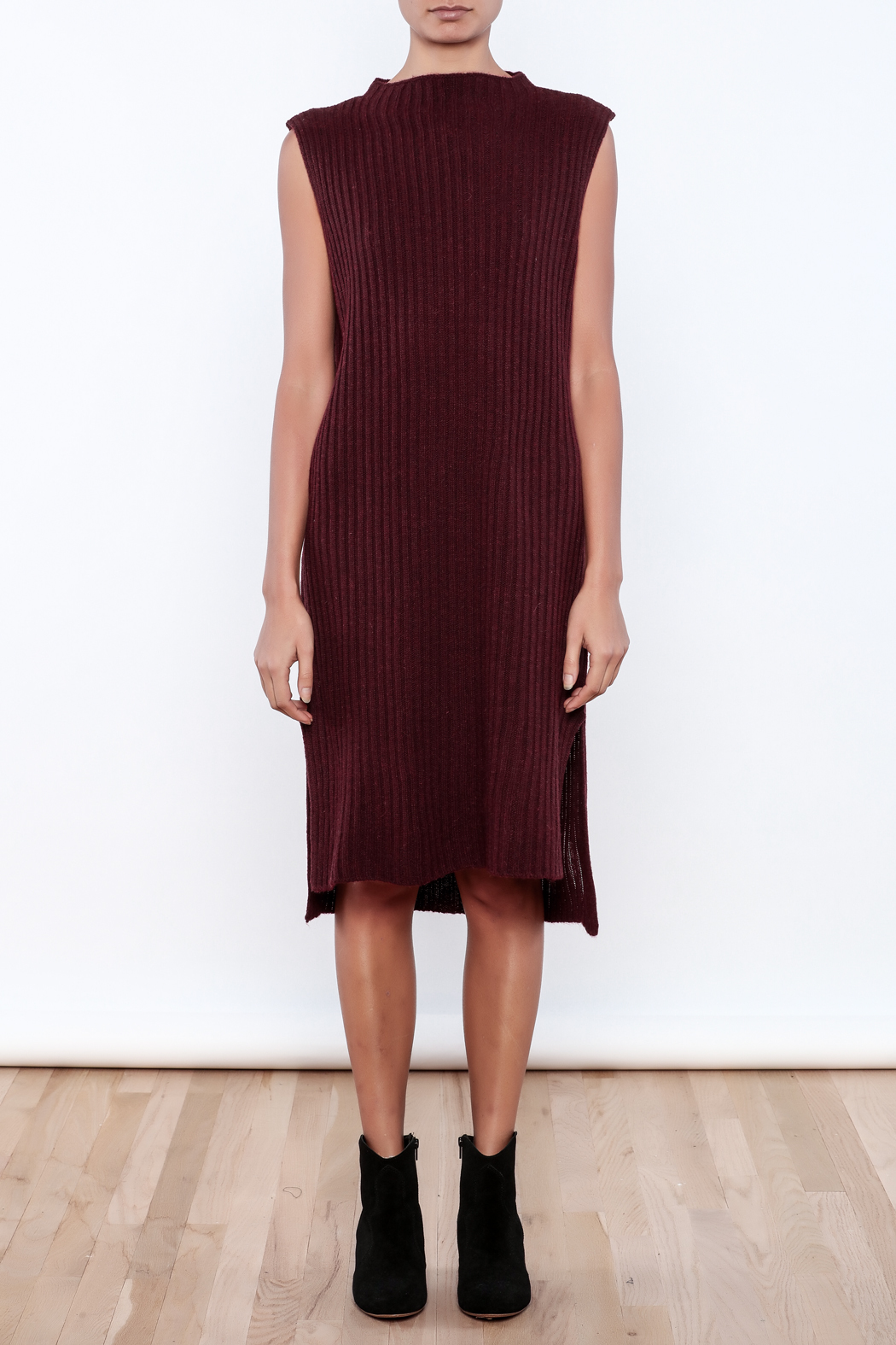 J.O.A. Sweater Dress - Front Cropped Image