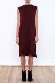 J.O.A. Sweater Dress - Front cropped
