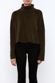 J.O.A. Turtleneck Crop Sweater - Side cropped