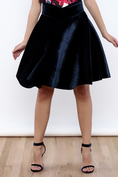 Shoptiques Product: Velvet Skirt
