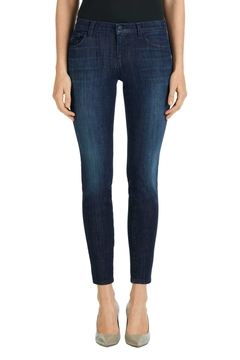 J Brand  Dark Denim Skinny Jeans - Product List Image