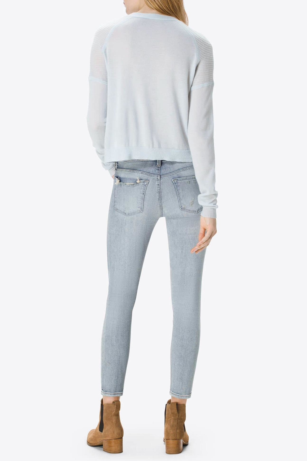 J Brand  9326 Low-Rise Crop - Front Full Image