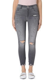 J Brand  Alana Provocateur Destruct Leggings - Product Mini Image