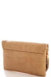 J Brand  Chic Tassel Clutch - Front full body
