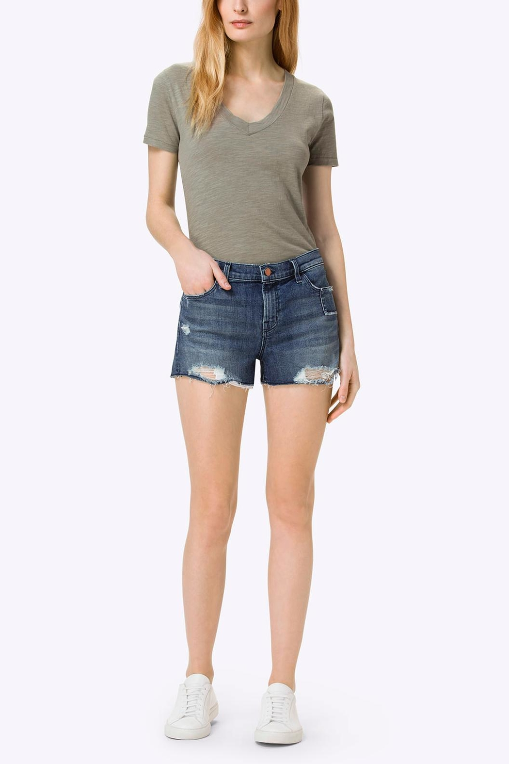 J Brand  Cut Off Short - Main Image