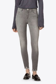 J Brand  Grey Skinny Jeans - Front cropped