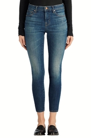 J Brand  Mid-Rise Capri Jeans - Front cropped