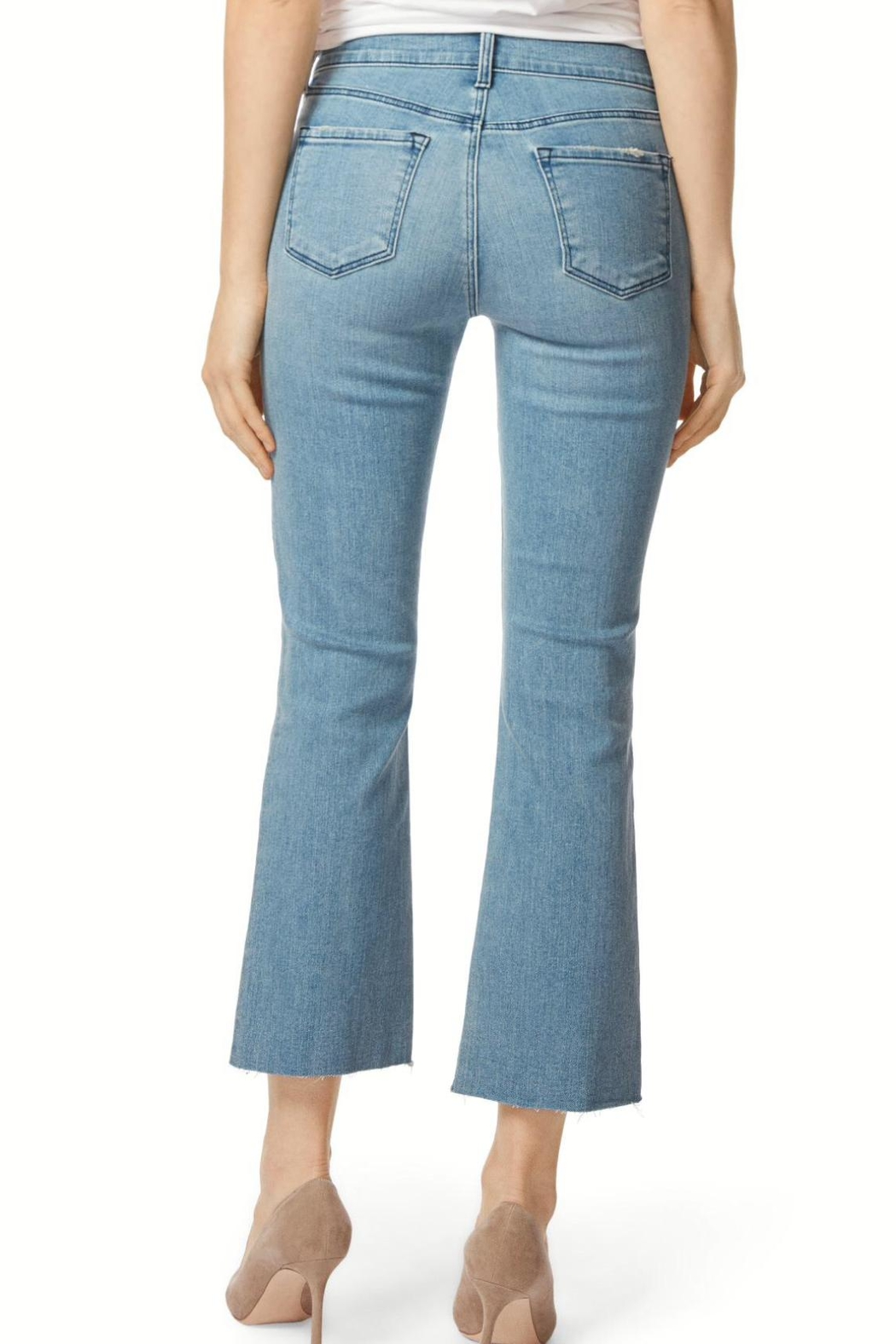 J Brand  Selena Cropped Bootcut - Front Full Image