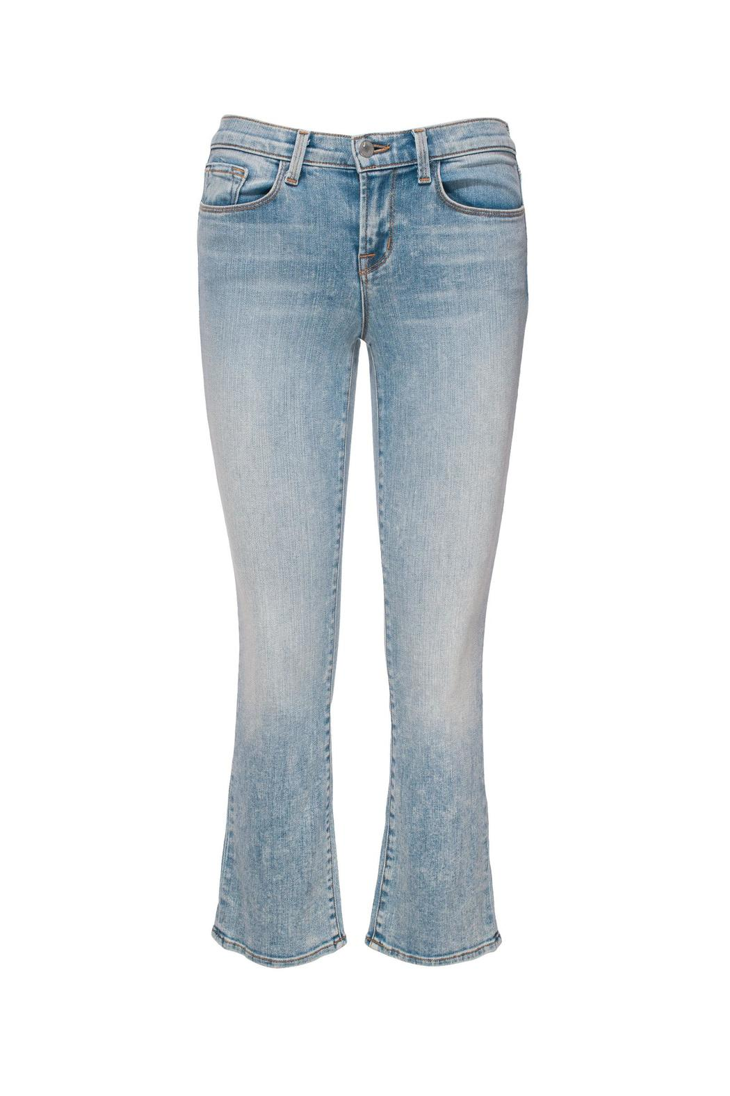 J Brand  Selena Mid Crop Bootcut - Front Cropped Image