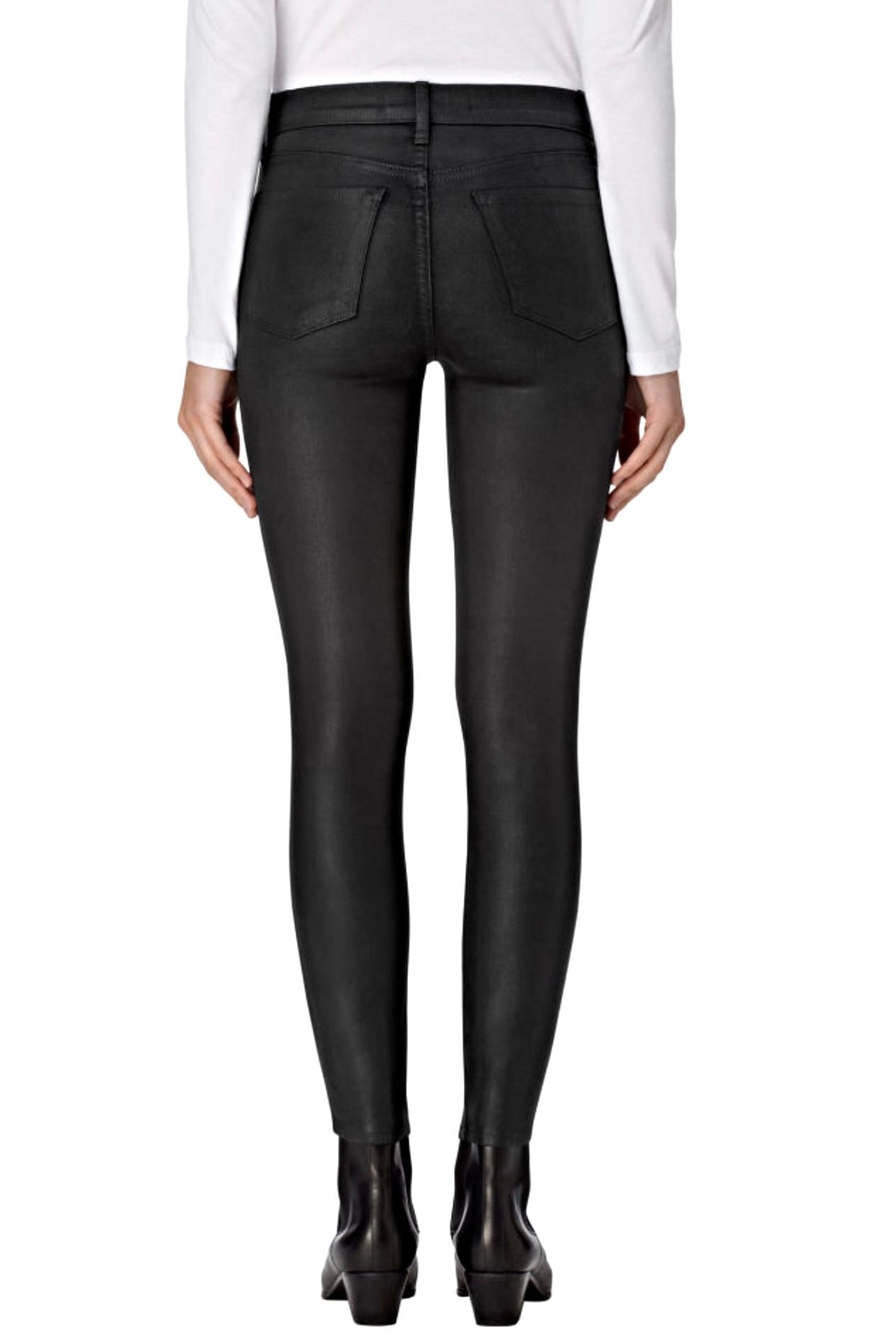 J Brand  Zion Coated Skinny - Side Cropped Image