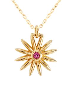 J Briggs & Co. Daisy Pink Tourmaline Necklace - Product List Image