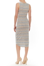 J HARPER Multi Stripe Dress - Front full body