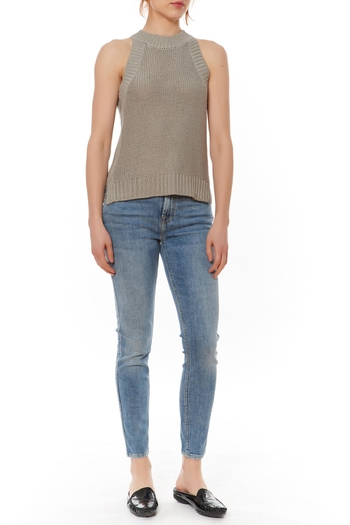 Shoptiques Product: Sleeveless Sweater Top  - main