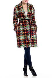 J JS Lee Wool Tweed Coat - Product Mini Image