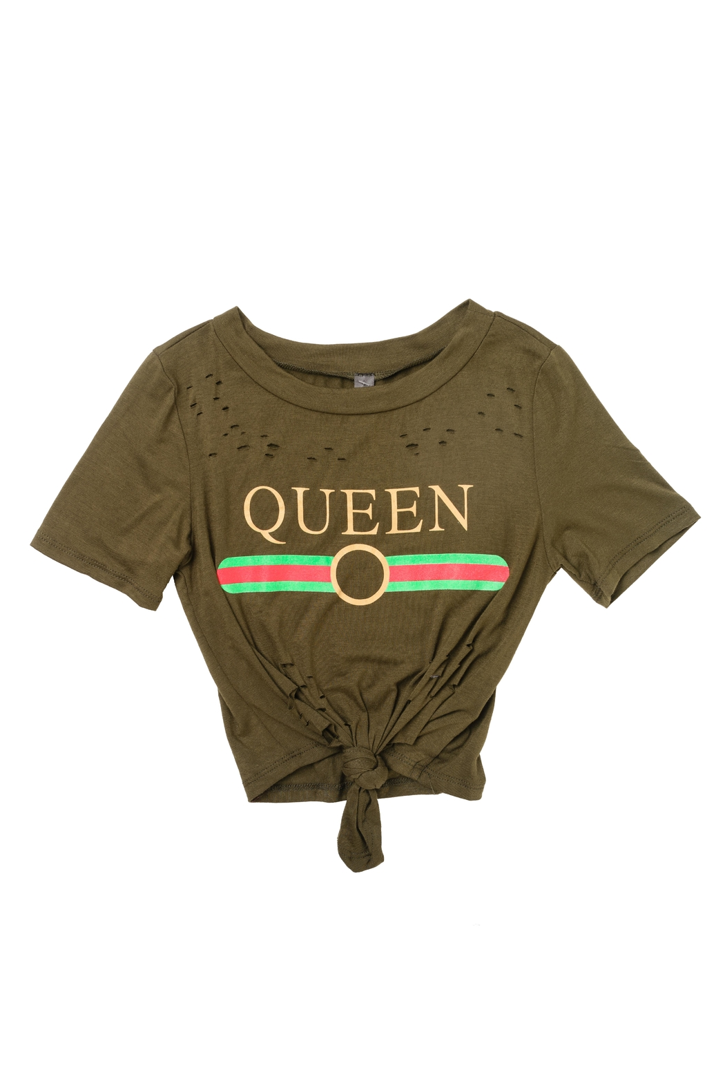 J USA Queen Tee - Front Cropped Image