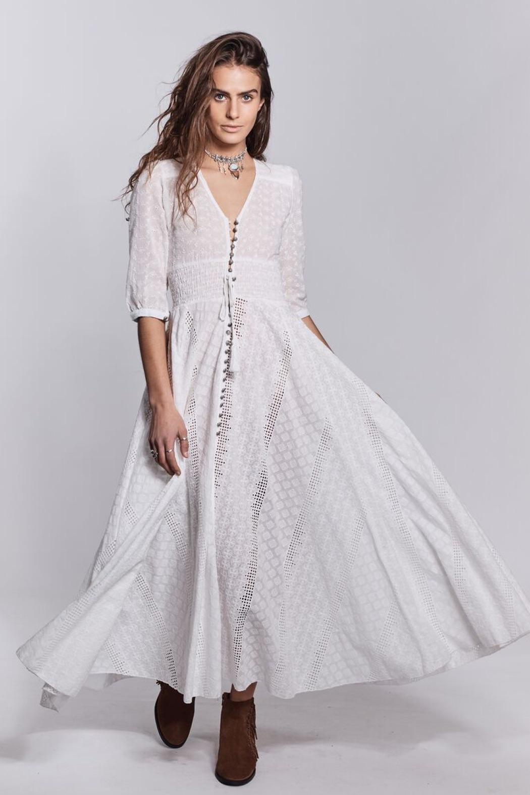 Jaase White Bohemian Dress from Queensland by White Bohemian ...