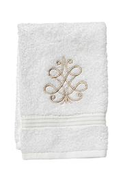 Jacaranda Living Embroidered Guest Towel - Product Mini Image