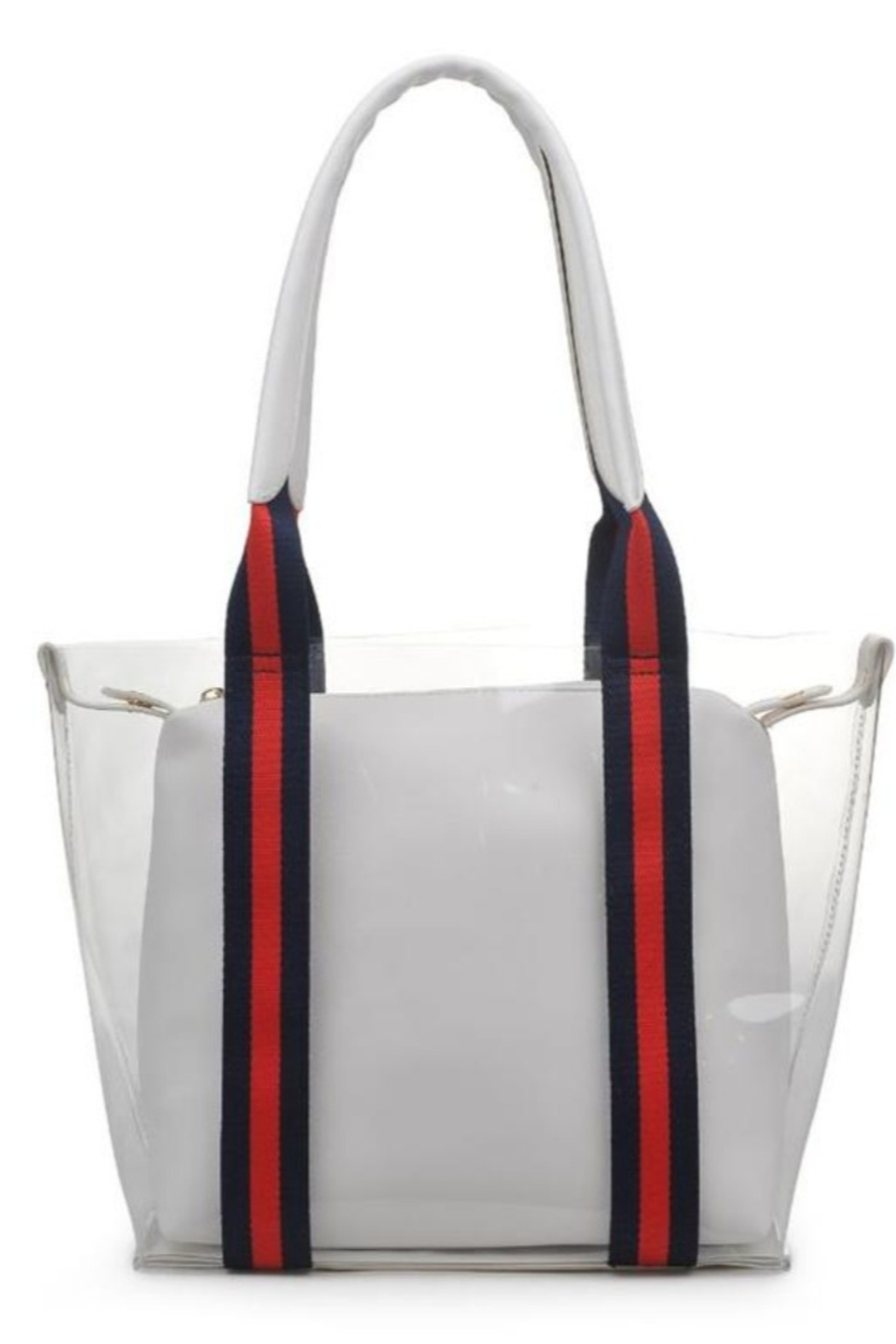 Moda Luxe Jacelyne Clear Tote - Main Image