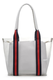 Moda Luxe Jacelyne Clear Tote - Front cropped