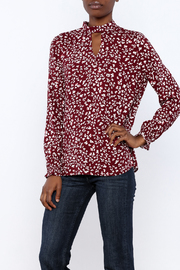 Jack by BB Dakota Aheesha Print Top - Product Mini Image