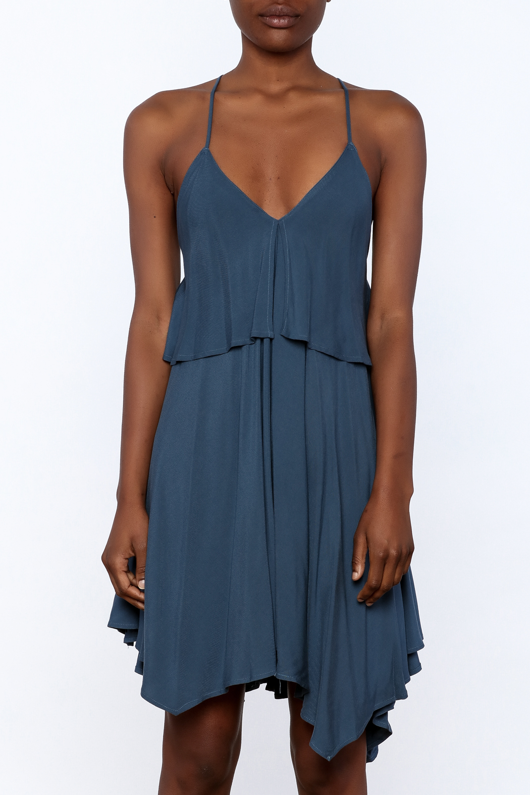 Jack by BB Dakota Auda Flowy Dress - Side Cropped Image