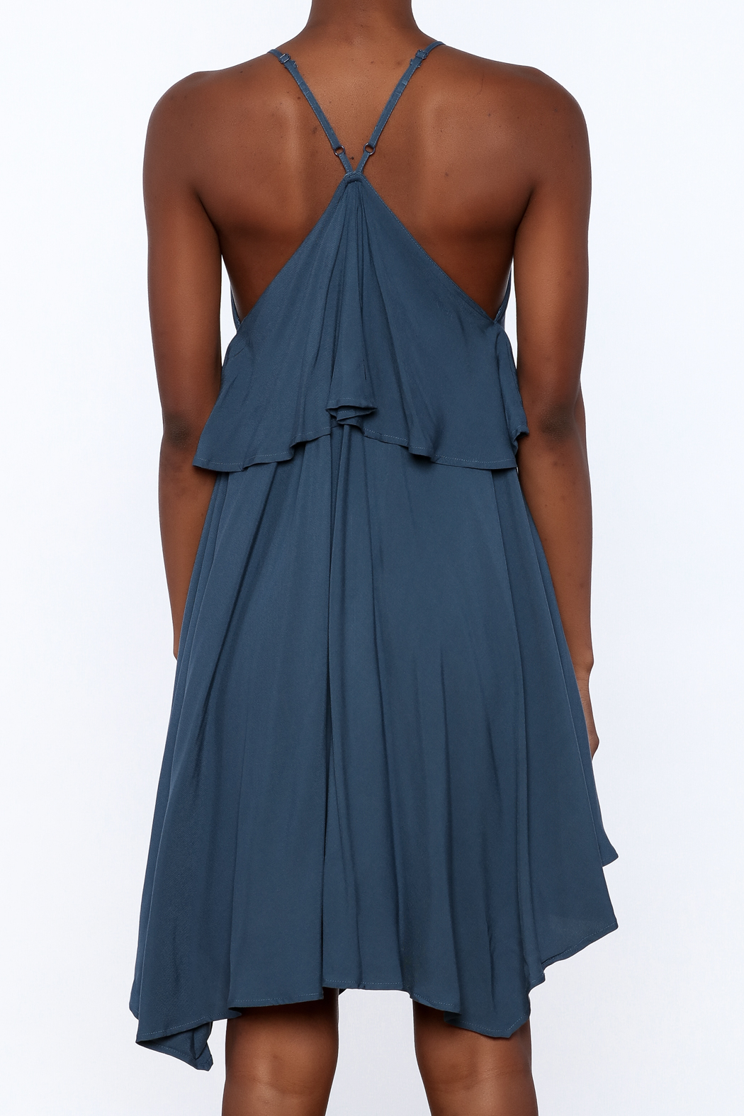 Jack by BB Dakota Auda Flowy Dress - Back Cropped Image