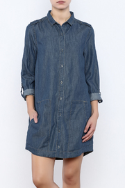 Jack by BB Dakota Button Down Jean Dress - Product Mini Image