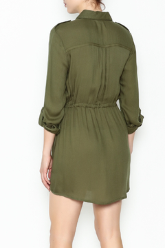 Jack by BB Dakota Olive Green Shirt Dress - Alternate List Image