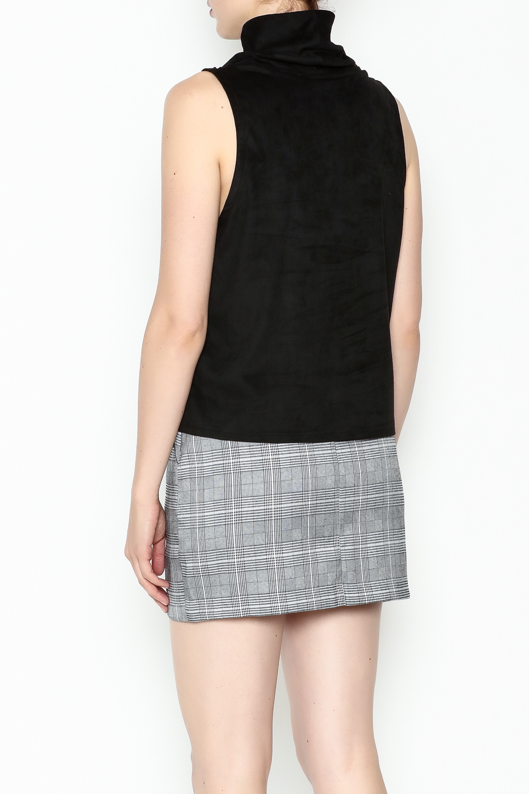 Jack by BB Dakota Faux Suede Top - Back Cropped Image