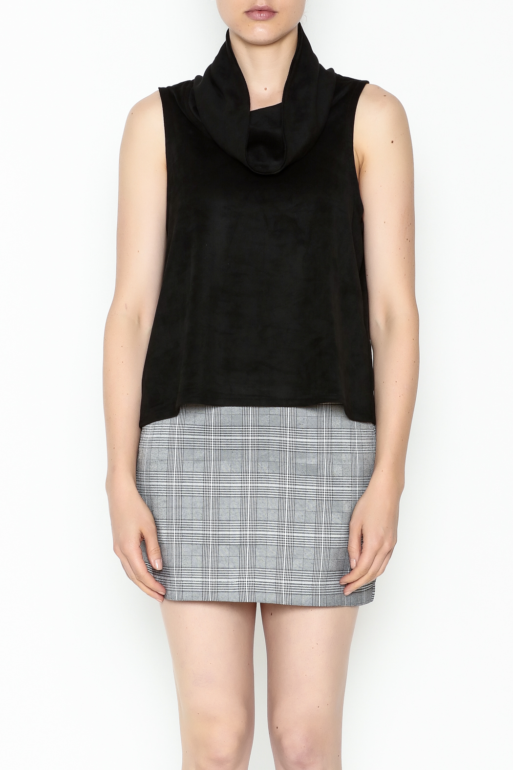 Jack by BB Dakota Faux Suede Top - Front Full Image