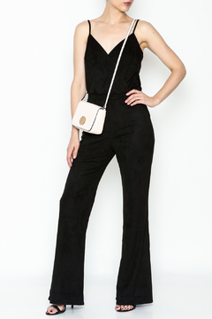 Jack by BB Dakota Faux Suede Jumpsuit - Product List Image
