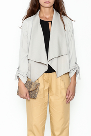 Jack by BB Dakota Grey Gayne Jacket - Front full body