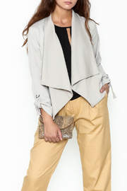 Jack by BB Dakota Grey Gayne Jacket - Front cropped