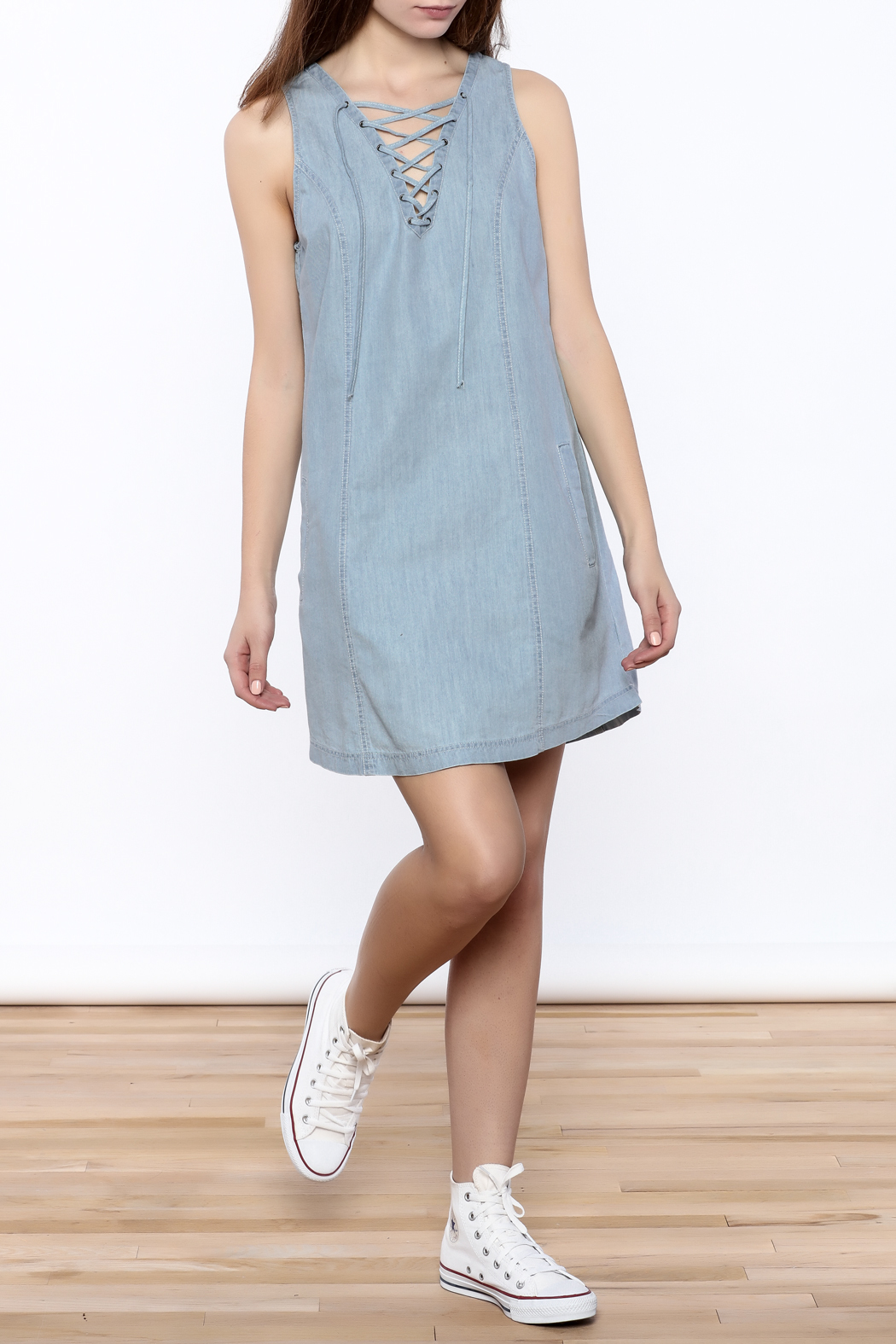 Jack by bb dakota gilbert chambray dress from iowa by the for Chambray dress