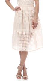 Jack by BB Dakota Gingham Organza Skirt - Product Mini Image