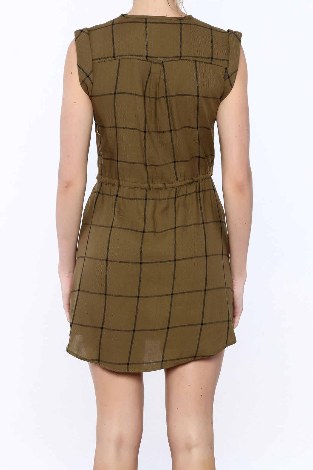 Jack by BB Dakota Janis Shirt Dress - Back Cropped Image