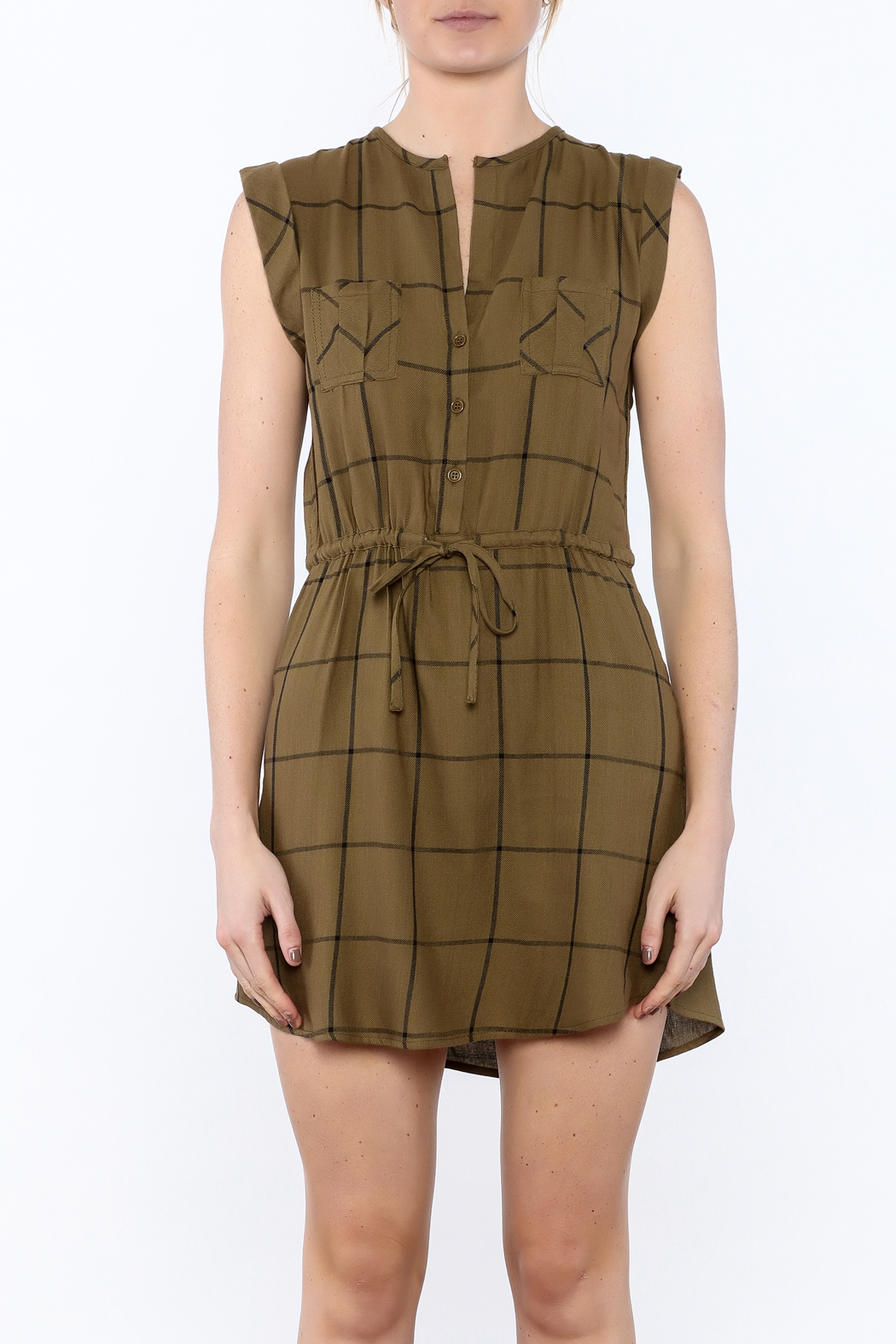 Jack by BB Dakota Janis Shirt Dress - Side Cropped Image