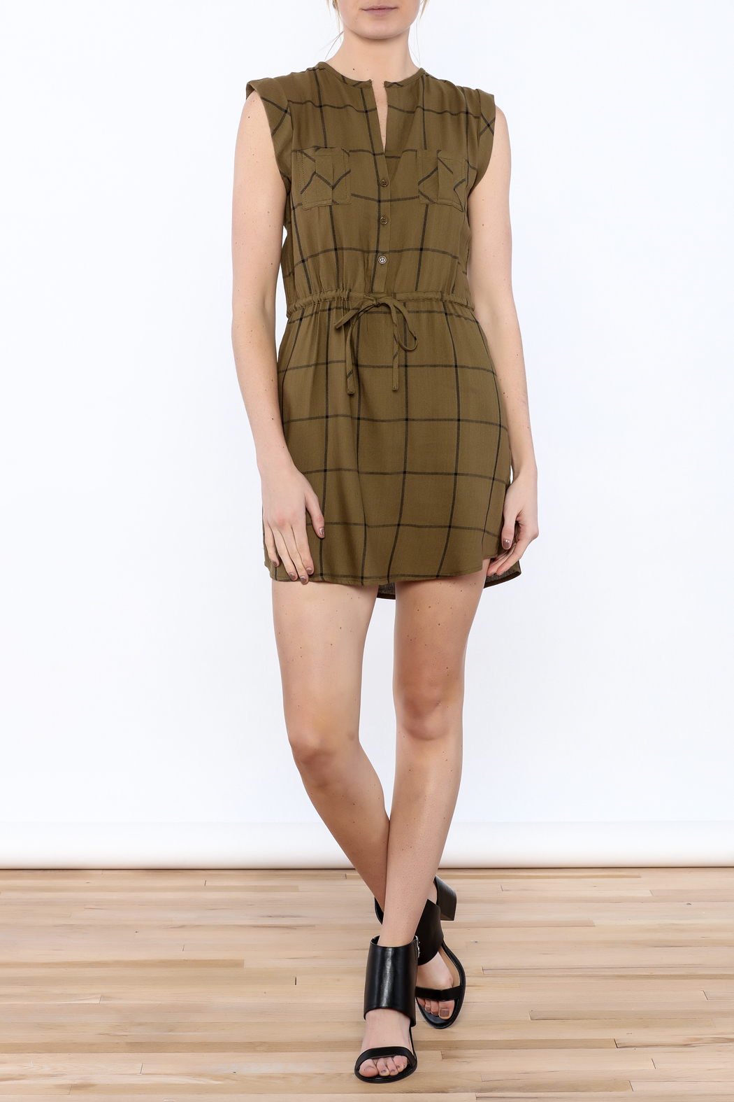 Jack by BB Dakota Janis Shirt Dress - Front Full Image