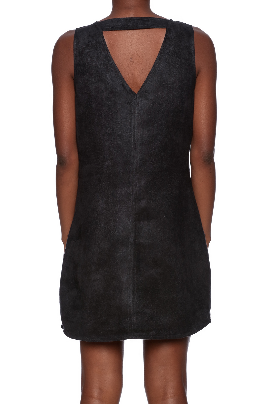 Jack by BB Dakota Bane Faux Suede Dress - Back Cropped Image