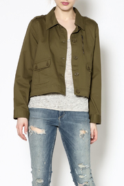Jack by BB Dakota Fern Green Jacket - Product Mini Image